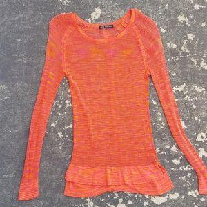 Rag & Bone Allguer Mesh Sweater Top